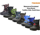 Kids Winter Boots Insulated Waterproof Northside Frosty Snow Boots 10F Warm NEw