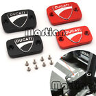 Alloy Brake Fluid Oil Reservoir Cap Cover For Ducati Monster 695 696 796 S2R MTS