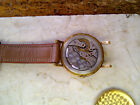 Late 1950s - Early 1960s IWC Schaffhausen 18KT Yellow Gold Mens Watch AS-IS