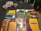 Lot of various My Fathers World books Saxon Math 8 7 Total Health books