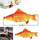 Realistic Doll Interactive Fish Cat Kicker Kitten Crazy Toy Catnip soft Pet Toys