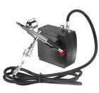AC100 240V Precision Dual Action Airbrush Air Compressor Paint Craft Cake Kit