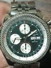 Breitling For Bentley GT Chronograph Day Date Steel 45mm Blue Dial Ref. A13362