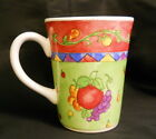 Sango Sangria Raspberry Coffee Mug Sue Zipkin Fruit FUN (I I)