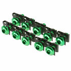 10x 6mm Green Bodywork Fairing Bolt Nut Screw fit Kawasaki Z1000 Versys 650 1000
