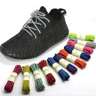 Reflective Shoe Laces Round Bootlaces Walking Boot Hiking Strong Laces 4mm wide