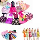 20pcs Fashion Handmade Party Clothes Dress outfit for Barbie Doll Chirstmas Gift