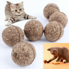 1PC Pet Cat Toys Natural Catnip Healthy Funny Treats Ball For Cats Kitten