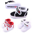 HK I Love Papa Mama Baby Kids Boy Girl Soft Sole Casual Canvas Sneaker Infant S