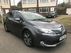2012 TOYOTA AVENSIS 20 D 4D ICON FULL SERVICE SUPER SPEC ONE OWNER 84000 MILES
