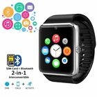 Indigi Unlocked 2 in 1 GSM + Bluetooth SmartWatch Phone Camera Touch Screen