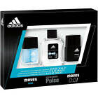 Adidas Fragrance Omni Male 3 Piece Gift Set Moves, Dynamic Pulse