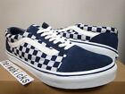 2017 VANS OLD SKOOL V36CL JAPAN INDIGO NAVY WHT CHECK 568042 0001 sz 105