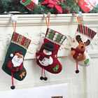 Merry Christmas Stocking Socks Gift Bag N Reindeer Home Festival Hot Xmas Decor