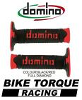 Maico 250/500 GME Domino Full Diamond Grips Black / Red