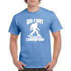 New T shirt Bigfoot Hide And Seek Campion 100 Cotton Tee Long Beach Apparel
