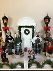 1985 1991 Byers Choice Carolers Lamp and Scene Included