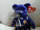 ~ASTRA the Teddy Bear TY BEANIE BABY Bear Babies shooting stars 2004 NWT RT