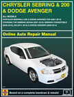 2009 Dodge Avenger Haynes Online Repair Manual-Select Access