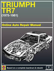 1978 Triumph TR7 Haynes Online Repair Manual-Select Access