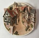 David Winter Cottages Collectors Guild Piece 3D Plaque Street Scene  - John Hine