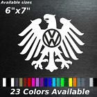 Vw Eagle Decal Sticker Volkswagen German Germany Car