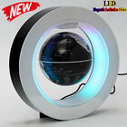 LED Floating Globe World Map Rotating Magnetic O Shape Levitation Ball Kid Gift#