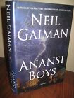 1st Edition ANANSI BOYS Neil Gaiman FIRST PRINTING Fiction NOVEL Fantasy SCI FI