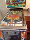 1976 Night Rider Pinball Machine. New bumpers and a contacts