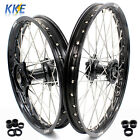 21/19 BLACK CASTING WHEEL FIT HONDA CR125R CR250R CRF250R 04-13 CRF450R 02-12