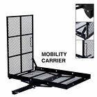 Electric Wheelchair Hitch Carrier Mobility Scooter Transport w Loading Ramp New