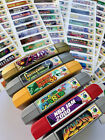 Nintendo 64 N64 Sticker Labels For All 296 Custom Game Stickers