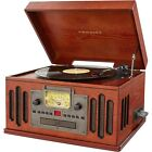 Crosley CR704B PA Deluxe Musician Record Player Turntable Bluetooth CD AM FM NEW