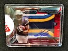 2013 Keenan Allen Topps Strata Red Clear Cut 4-Color Patch Rookie Auto 9 15! HOT