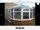 ST255 EX DISPLAY VICTORIAN STYLE CONSERVATORY WHITE UPVC FREE DELIVERY
