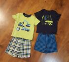 Carters Boys Outfit set 4 Pieces 4T Trucks Surfing