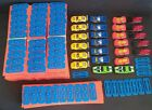 NEVER USED Hot Wheels HUGE Lot of Over 175 Pieces Connectors Tracks Cars