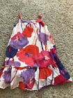 Gap Kids Girls Floral Sleeveless Pink Purple Dress Size S 6