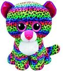 TY Beanie Boos Dotty Multi Colored Leopard Large