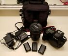 Canon EOS 5D Mark III 223MP Digital SLR with EF 24 100mm lens and accessories