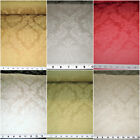 Discount Fabric Upholstery Drapery Jacquard Damask Floral Choose Your Color