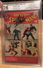 AMAZING SPIDER MAN 4 1ST SANDMAN PGX 70 STAN LEE SIGNED VERY NICE NO RES
