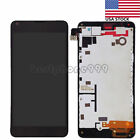 For Nokia Lumia 640 LCD Display Touch screen Digitizer Glass Assembly Frame USA
