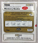 Pioneer Memory Books Refill RW-85 Top Loading White 10 Pgs 5 Sheets 8 1/2 x 11