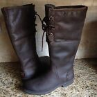 UGG ELSA BROWN TALL BOMBER WATERPROOF SNOW BOOTS SIZE US 12 Womens Ret 225