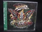 SINNER One Bullet Left + 3 JAPAN CD (+ 2 Videos) Primal Fear Jorn Silent Force