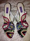 NEW EMILIO PUCCI Butterfly sandals mules slides size 38 8