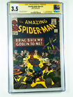 Amazing Spider Man 27 CGC 35 Death of Crimemaster signed by Stan Lee