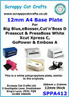 A4 x 12mm Base Plate for eBosser C Plate by Scrappy Cat  SPPA412 4