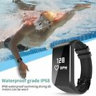 Smart Bracelet Wristband Watch Heart Rate Monitor Waterproof IP68 Fr IOS Android